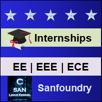 Bangalore Internships - Electrical & Electronics Engineering