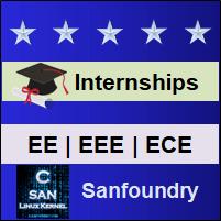 EE, EEE, ECE Internships - Sanfoundry