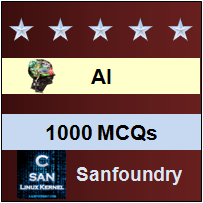 1000 Artificial Intelligence MCQs for Freshers & Experienced