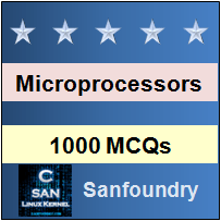 1000 Microprocessor MCQs for Freshers & Experienced - Sanfoundry