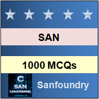 1000 SAN Storage MCQs for Freshers & Experienced | Sanfoundry