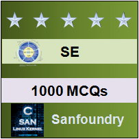 1000 Software Engineering MCQs for Freshers & Experienced | Sanfoundry