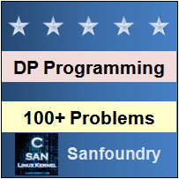 Dynamic Programming Problems and Solutions