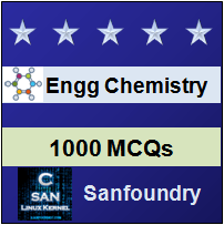 Engineering Chemistry Questions and Answers - Sanfoundry