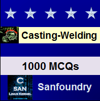 Casting, Forming & Welding I Questions and Answers