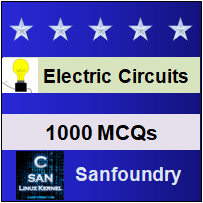 Electric Circuits Questions and Answers - Sanfoundry
