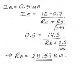 electronic-devices-circuits-questions-answers-basic-bjt-amplifier-configuration-q7a