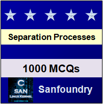Separation Processes Interview Questions and Answers