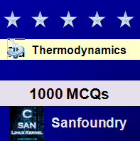 Thermodynamics Questions and Answers - Sanfoundry