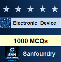 electronic devices and circuits questions and answers sanfoundryelectronic devices and circuits interview questions and answers