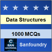 Data Structure Questions and Answers - Sanfoundry