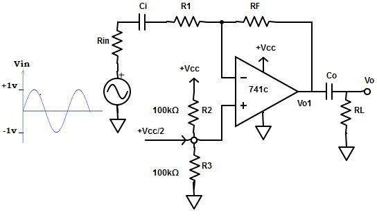 ac amplifiers with single supply voltage questions and answers