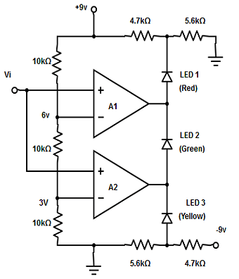 comparator linear integrated circuit questions and answers
