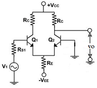 linear-integrated-circuit-mcqs-differential-amplifier-circuit-configuration-q7a