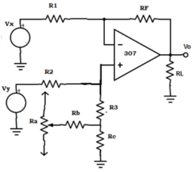 Find the AC inverting amplifier from the given circuit