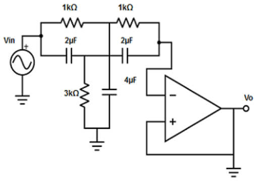 Find the two 0.68µF capacitor from the given diagram