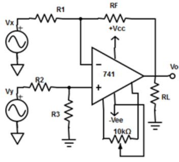 Find the DC voltage from the given diagram