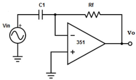 Find the basic inverting amplifier from the given diagram