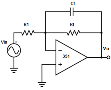 Find the output impedance from the given diagram