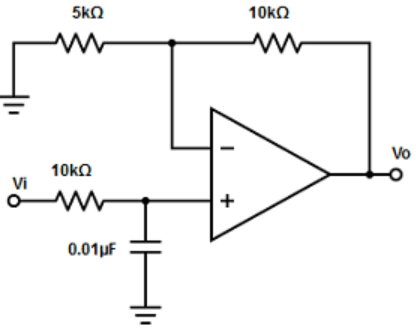 Find the RF and R1 from the given diagram