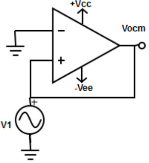 Find the applied voltage from the given op-amp circuit