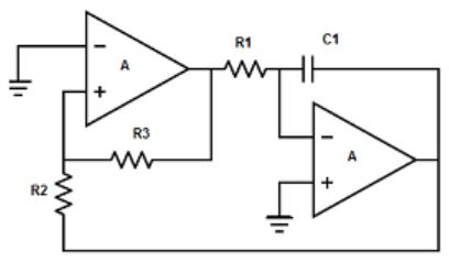 Sawtooth wave generator circuit