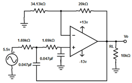 Find the capacitor value from the given diagram