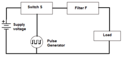 Find the switching regulator from the given diagram
