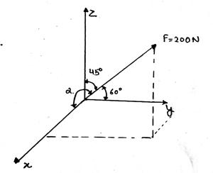 engineering-mechanics-questions-answers-dot-product-cross-product-2-q14