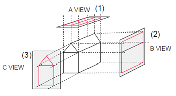 Orthographic Reading - Civil Engineering Drawing Questions and