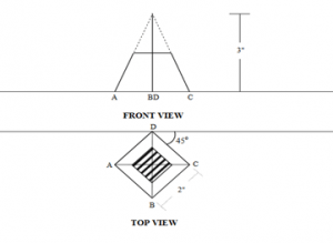 civil-engineering-drawing-questions-answers-point-projection-q3