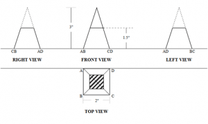 civil-engineering-drawing-questions-answers-point-projection-q4