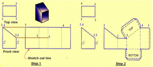 civil-engineering-drawing-questions-answers-point-projection-q7