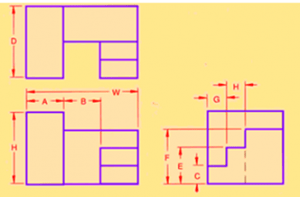 civil-engineering-drawing-questions-answers-projection-isometric-q6