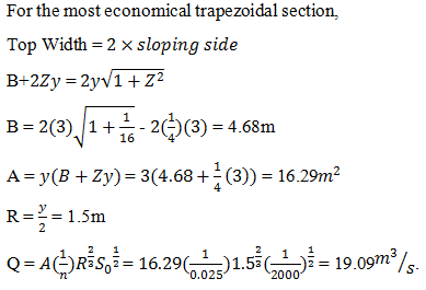 fluid-mechanics-questions-answers-most-economic-trapezoidal-section-q6