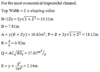 fluid-mechanics-questions-answers-specific-energy-2-q10