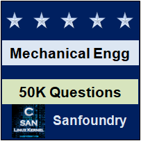 Mechanical Engineering Questions and Answers - Sanfoundry