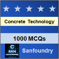 Concrete Technology Interview Questions and Answers