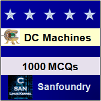 DC Machines Questions and Answers