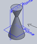engineering-drawing-questions-answers-isometric-drawing-cones-q13