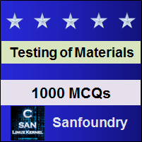 Mechanical Behaviour & Testing of Materials Interview Questions and Answers