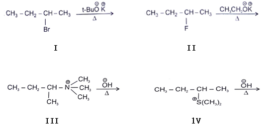 Elimination Reaction - Organic Chemistry Questions and Answers