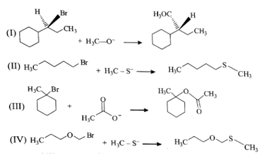 Nucleophilic Substitution Reaction - Organic Chemistry