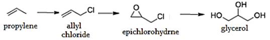 organic-chemistry-questions-answers-preparation-glycerol-q4a