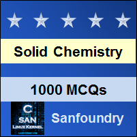 Solid State Chemistry Questions and Answers