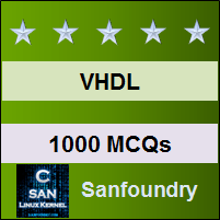 VHDL Questions and Answers - Sanfoundry