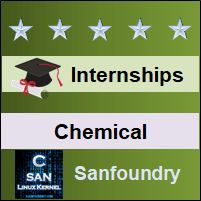 Bangalore Internships - Chemical Engineering