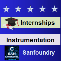 Bangalore Internships - Instrumentation Engineering