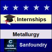 Bangalore Internships - Metallurgical Engineering