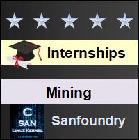 Bangalore Internships - Mining Engineering